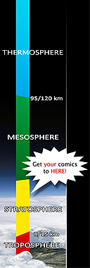 Get your comics into the stratosphere!
