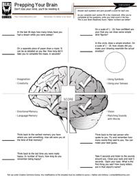 Prep Your Brain