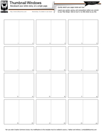 Thumbnail Sheet